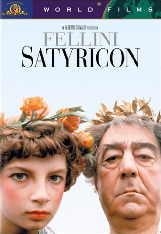 Capa do filme: Satyricon de Fellini
