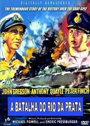 Capa do filme: A Batalha do Rio da Prata