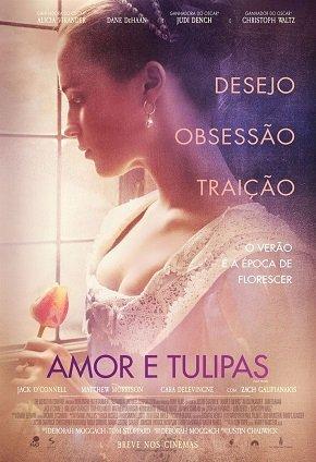 Capa do filme: Amor & Tulipas