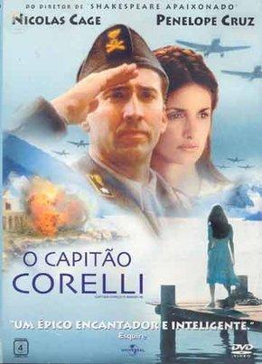 Capa do filme: O Capitão Corelli