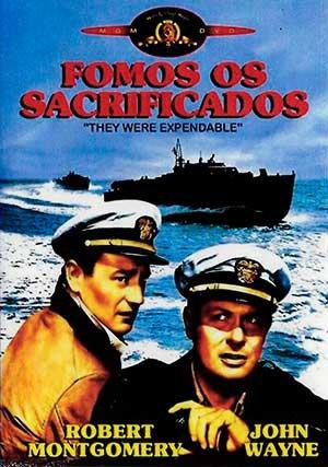 Capa do filme: Fomos os Sacrificados