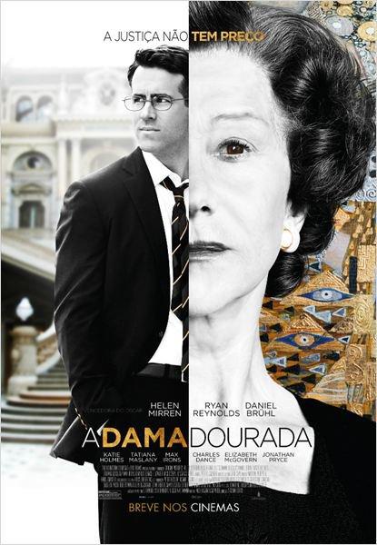 Capa do filme: A Dama Dourada