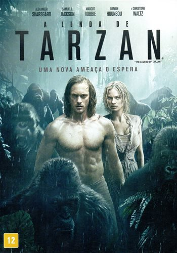 Capa do filme: A Lenda de Tarzan