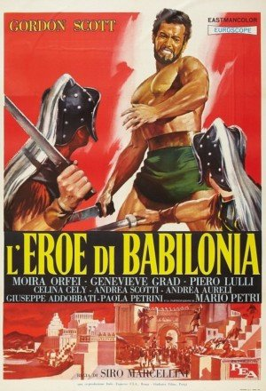 Capa do filme: O Herói da Babilônia