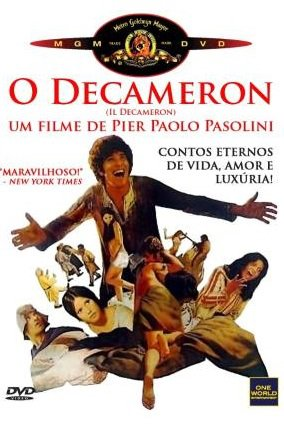 Capa do filme: O Decameron