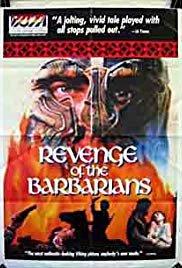 Capa do filme: A Vingança dos Bárbaros