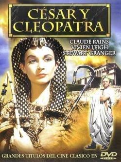 Capa do filme: César e Cleópatra