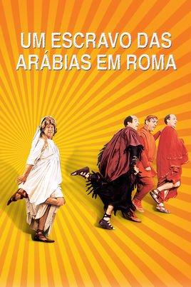 Capa do filme: Um Escravo das Arábias em Roma
