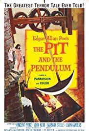 Capa do filme: O Poço e o Pêndulo