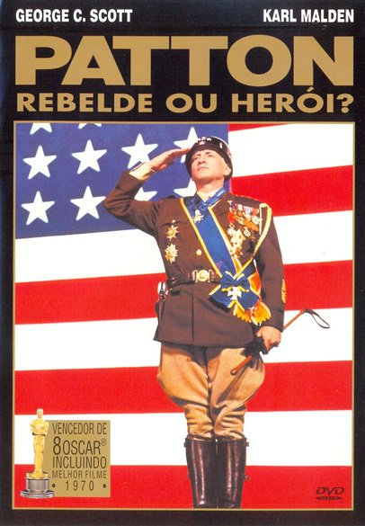Capa do filme: Patton - Rebelde ou Herói?