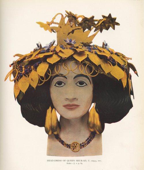 As jóias da rainha Puabi.
