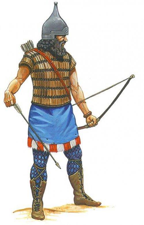 Arqueiro assírio
