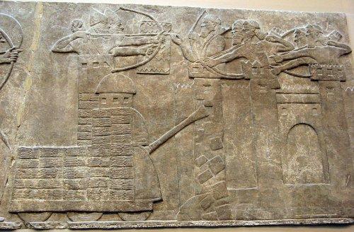 Relevo do Palácio de Nimrud (Kalhu) - Sala B, Painel 18.