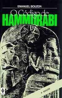Capa do livro O Código de Hammurabi, de Emanuel Bouzon