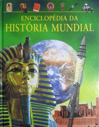 Capa do livro Enciclopédia da História Mundial, de Anita Ganeri