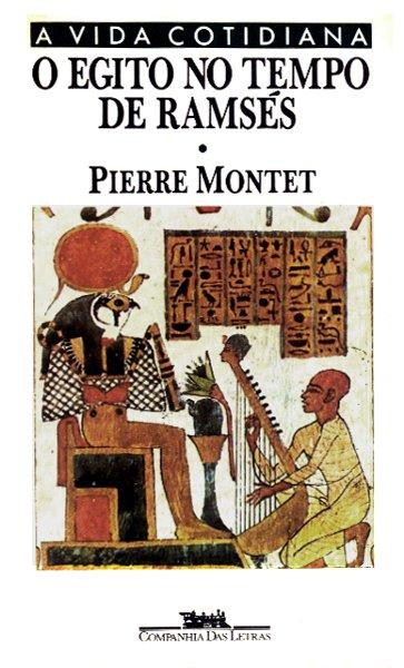 Capa do livro O Egito no tempo de Ramsés, de Pierre Montet