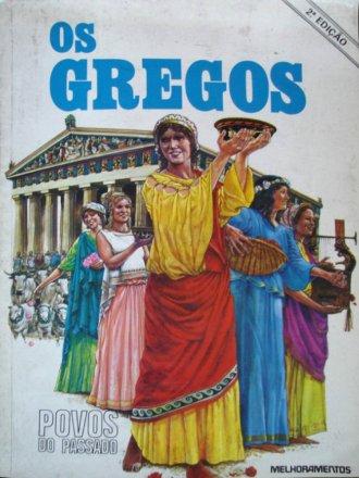 Capa do livro Povos do Passado: Os Gregos, de Judith Crosher