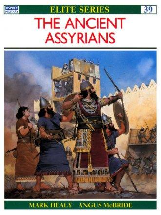 Capa do livro The Ancient Assyrians, de Mark Healy