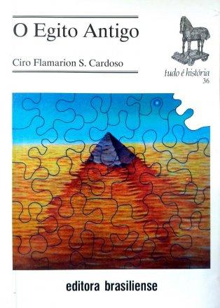 Capa do livro O Egito Antigo, de Ciro Flamarion Cardoso