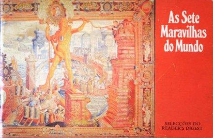 Capa do livro As Sete Maravilhas Do Mundo, de Readers Digest