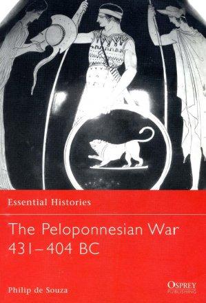 Capa do livro The Peloponnesian War 431–404 BC, de Philip de Souza