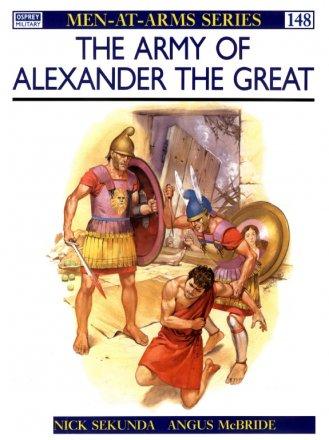 Capa do livro The Army of Alexander The Great, de Nicholas Sekunda