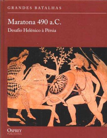 Capa do livro Maratona 490 a.C., de Nicholas Sekunda