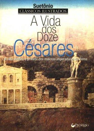 Capa do livro A Vida dos Doze Césares, de Suetônio