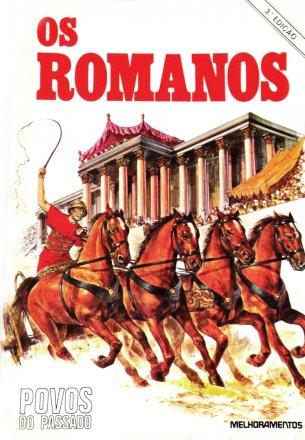Capa do livro Povos do Passado: Os Romanos, de Joan Forman