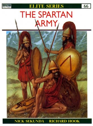 Capa do livro: The Spartan Army