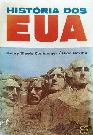 Capa do livro História dos EUA, de Henry Steele Commager e Allan Nevins