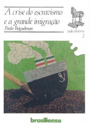 Capa do livro A crise do escravismo e a grande imigração, de Paula Beiguelman