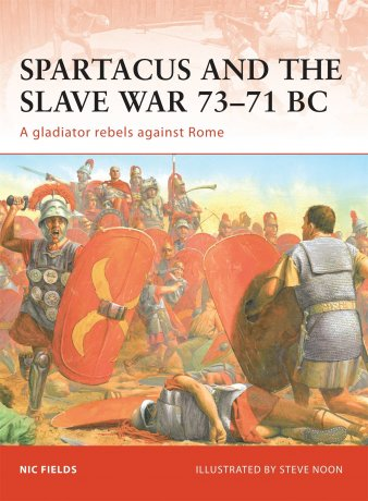Capa do livro: Spartacus and the Slave War 73-71 BC