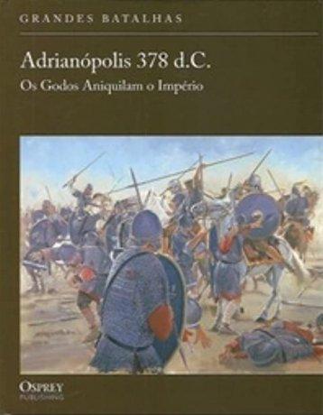 Capa do livro Adrianópolis 378 d.C., de Simon MacDowall