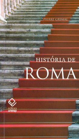 Capa do livro História de Roma, de Pierre Grimal