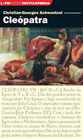 Capa do livro Cleópatra, de Christian-Georges Schwentzel