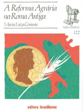 Capa do livro A reforma agrária na Roma antiga, de Maria Luiza Corassin