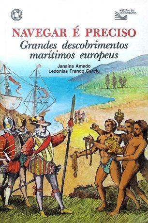 Capa do livro Navegar é Preciso, de Janaína Amado, Ledonias Franco Garcia