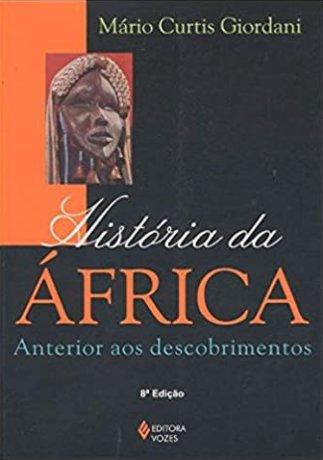 Capa do livro História da África anterior aos Descobrimentos, de Mario Curtis Giordani