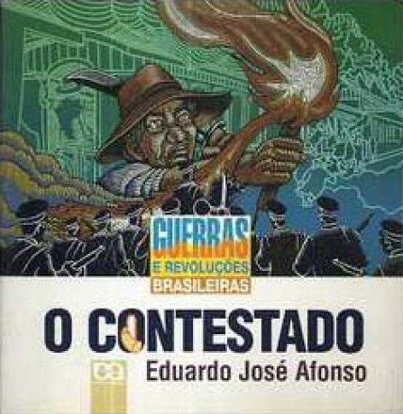 Capa do livro O Contestado, de Eduardo José Afonso